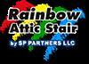 Rainbow Attic Stair